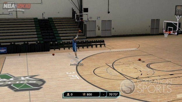 NBA 2K10: Draft Combine Screenshot #4 for Xbox 360