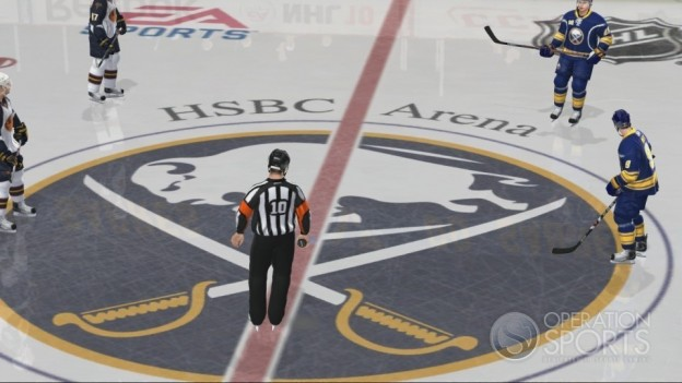 NHL 10 Screenshot #47 for Xbox 360