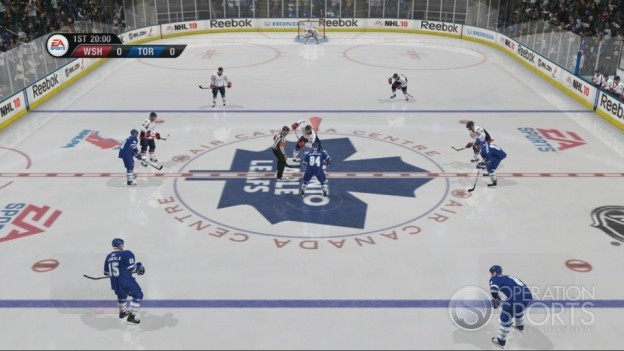 NHL 10 Screenshot #65 for Xbox 360