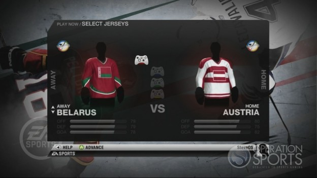 NHL 10 Screenshot #88 for Xbox 360
