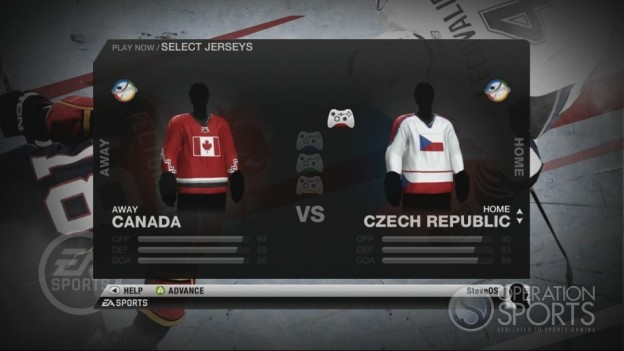 NHL 10 Screenshot #89 for Xbox 360