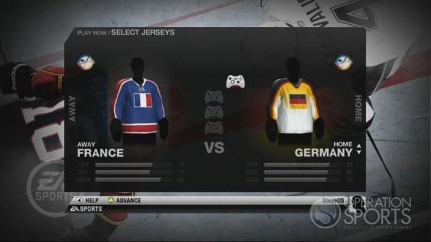 NHL 10 Screenshot #91 for Xbox 360