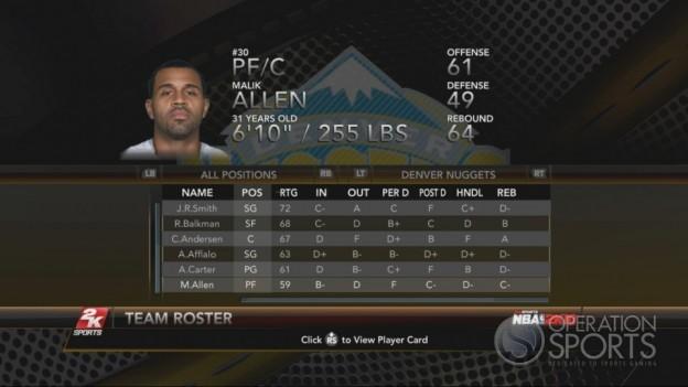 NBA 2K10 Screenshot #77 for Xbox 360