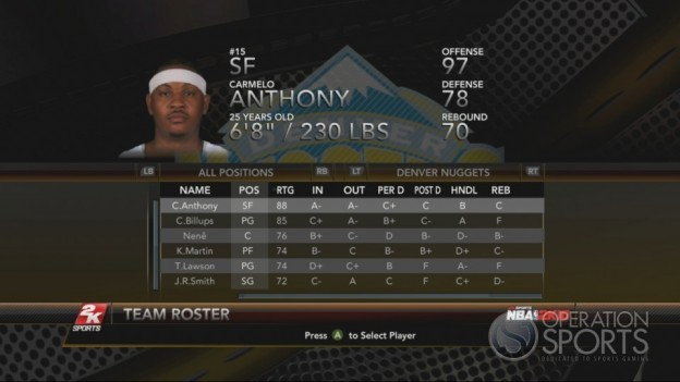NBA 2K10 Screenshot #78 for Xbox 360