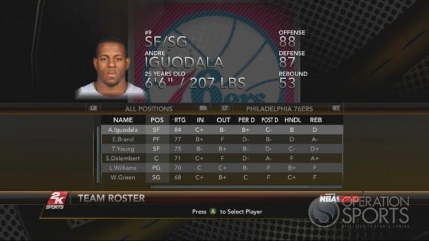NBA 2K10 Screenshot #114 for Xbox 360