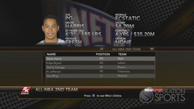 NBA 2K10 Screenshot #185 for Xbox 360