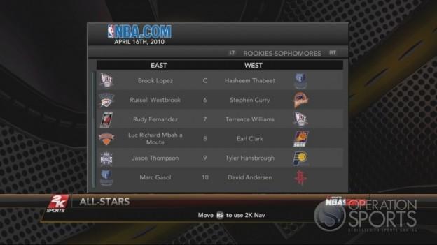 NBA 2K10 Screenshot #193 for Xbox 360