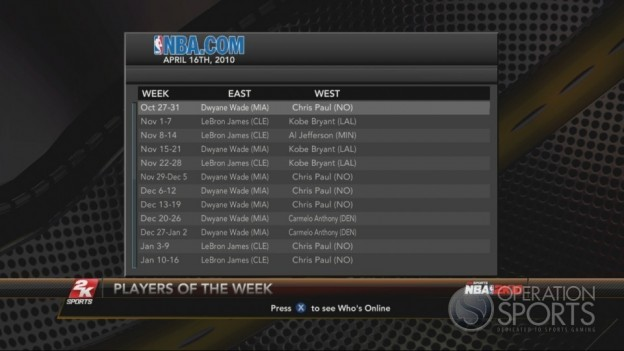 NBA 2K10 Screenshot #197 for Xbox 360