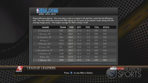 NBA 2K10 Screenshot #201 for Xbox 360