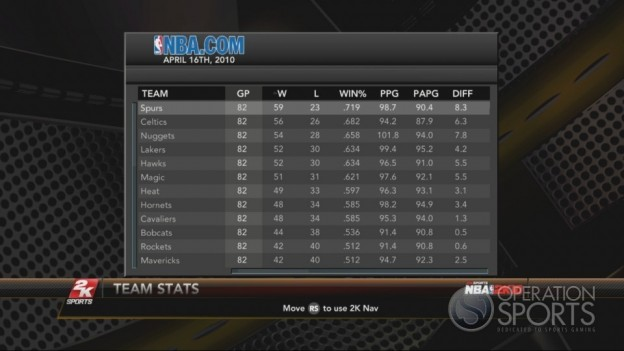 NBA 2K10 Screenshot #205 for Xbox 360