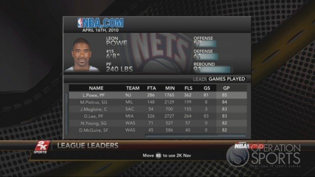 NBA 2K10 Screenshot #206 for Xbox 360