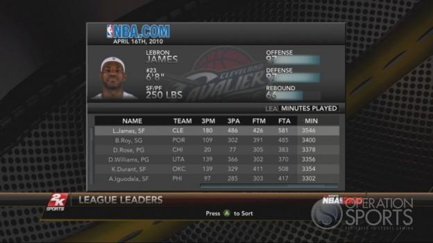 NBA 2K10 Screenshot #209 for Xbox 360