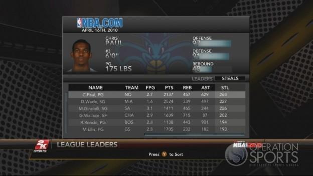 NBA 2K10 Screenshot #218 for Xbox 360