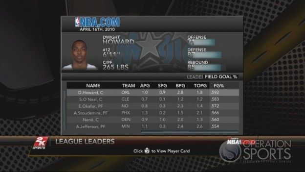 NBA 2K10 Screenshot #226 for Xbox 360