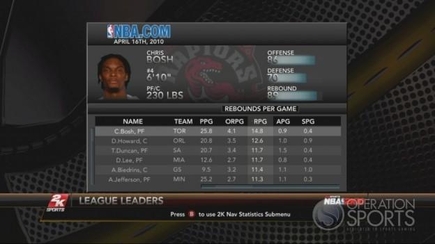 NBA 2K10 Screenshot #231 for Xbox 360