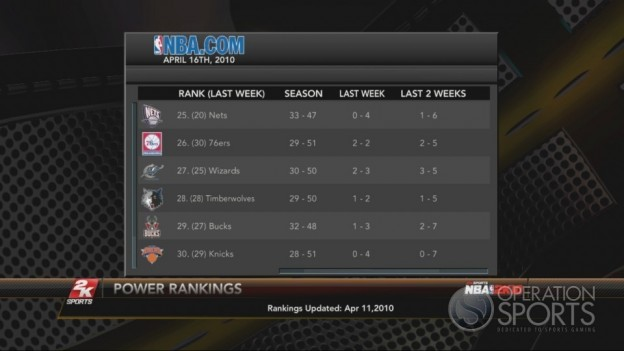 NBA 2K10 Screenshot #234 for Xbox 360