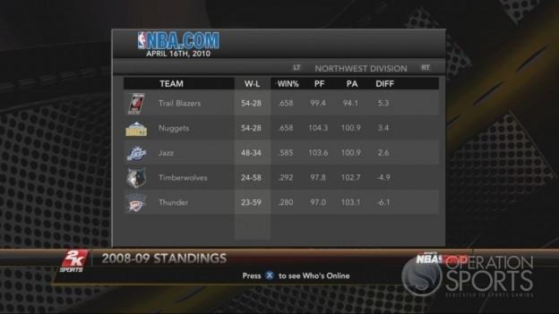 NBA 2K10 Screenshot #241 for Xbox 360