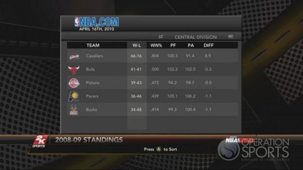 NBA 2K10 Screenshot #244 for Xbox 360