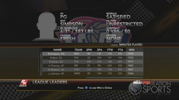 NBA 2K10 Screenshot #252 for Xbox 360