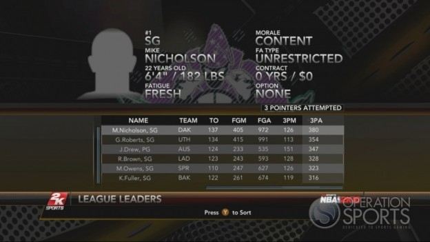 NBA 2K10 Screenshot #255 for Xbox 360