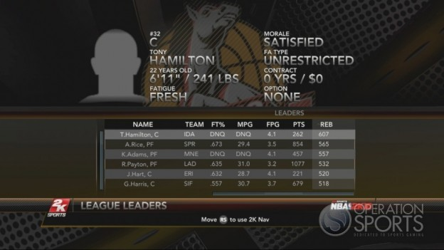 NBA 2K10 Screenshot #263 for Xbox 360