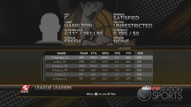NBA 2K10 Screenshot #263 for Xbox 360