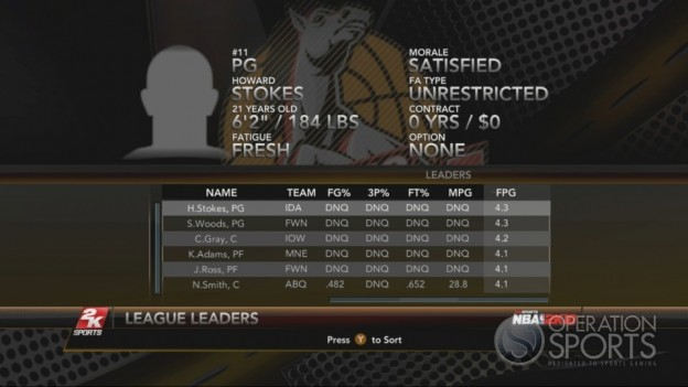 NBA 2K10 Screenshot #265 for Xbox 360
