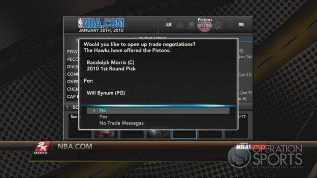 NBA 2K10 Screenshot #294 for Xbox 360