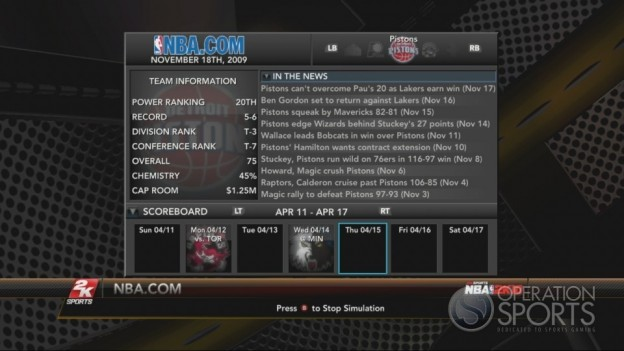 NBA 2K10 Screenshot #297 for Xbox 360