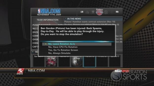 NBA 2K10 Screenshot #298 for Xbox 360