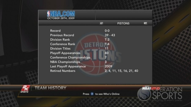 NBA 2K10 Screenshot #300 for Xbox 360