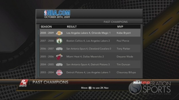 NBA 2K10 Screenshot #301 for Xbox 360