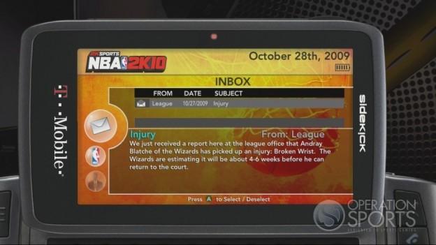 NBA 2K10 Screenshot #304 for Xbox 360