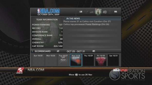 NBA 2K10 Screenshot #310 for Xbox 360