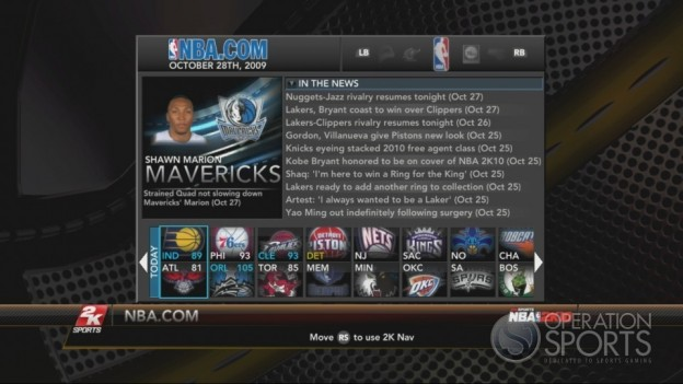 NBA 2K10 Screenshot #311 for Xbox 360