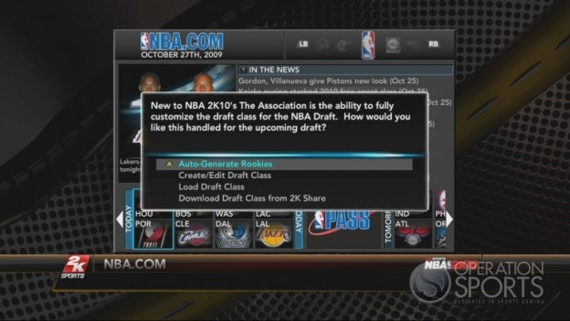 NBA 2K10 Screenshot #375 for Xbox 360