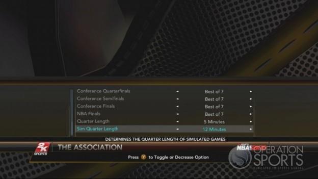 NBA 2K10 Screenshot #382 for Xbox 360