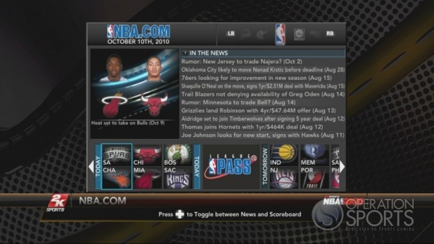 NBA 2K10 Screenshot #538 for Xbox 360