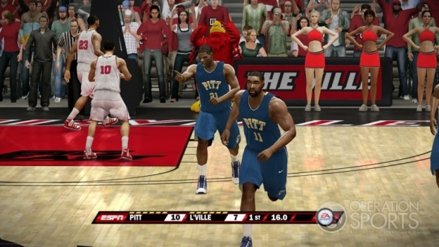 NCAA Basketball 10 Screenshot #6 for Xbox 360