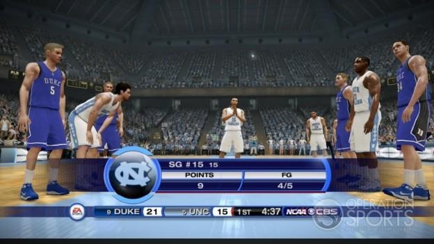 NCAA Basketball 10 Screenshot #11 for Xbox 360