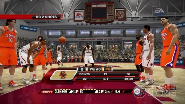 NCAA Basketball 10 Screenshot #12 for Xbox 360 - Operation Sports