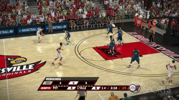 NCAA Basketball 10 Screenshot #16 for Xbox 360