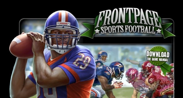FrontPage Sports Football Screenshot #1 for PC