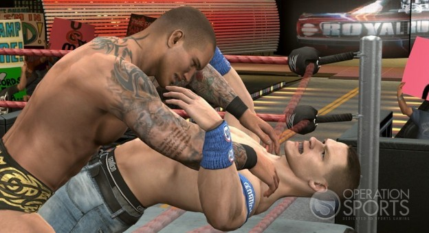 WWE SmackDown vs. Raw 2010 Screenshot #1 for Xbox 360