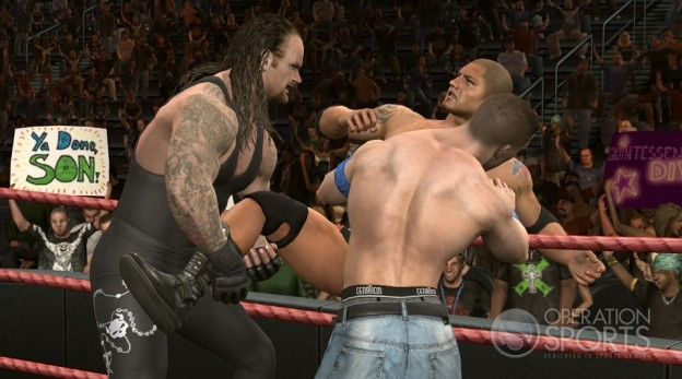 WWE SmackDown vs. Raw 2010 Screenshot #2 for Xbox 360