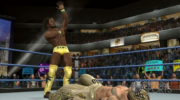 WWE SmackDown vs. Raw 2010 Screenshot #3 for Xbox 360