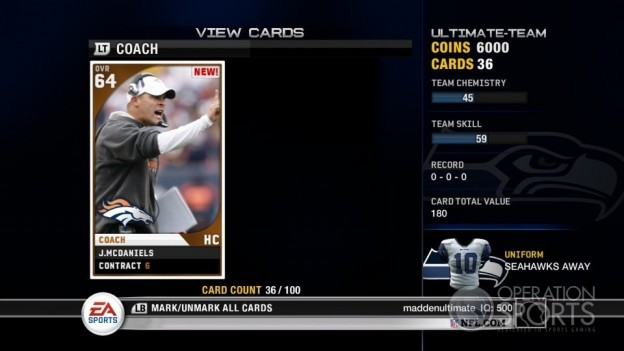 Madden Ultimate Team Screenshot #2 for Xbox 360