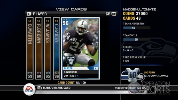 Madden Ultimate Team Screenshot #3 for Xbox 360