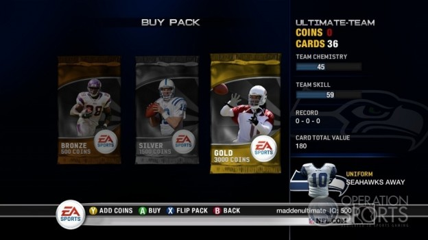 Madden Ultimate Team Screenshot #7 for Xbox 360