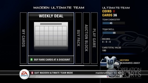 Madden Ultimate Team Screenshot #11 for Xbox 360